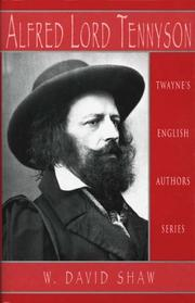 Cover of: English Authors Series - Alfred Tennyson Revisited