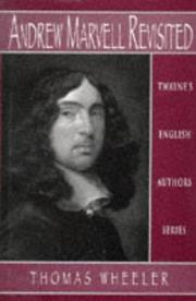 Cover of: Andrew Marvell revisited