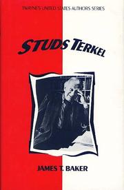 Cover of: Studs Terkel