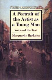 Cover of: Portrait of the Artist As a Young Man | Marguerite Harkness