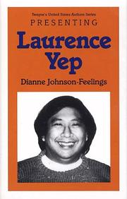 Cover of: Young Adult Authors Series - Presenting Laurence Yep (Young Adult Authors Series)