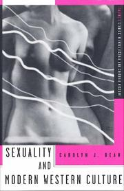 Cover of: Sexuality and modern Western culture | Carolyn J. Dean