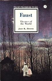 Cover of: Faust | Jane K. Brown