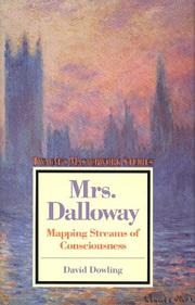 Cover of: Mrs. Dalloway | David Dowling