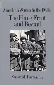 Cover of: The home front and beyond