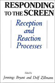 Cover of: Responding to the screen