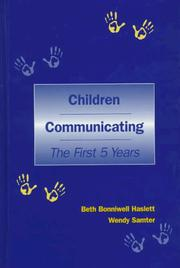 Cover of: Children communicating