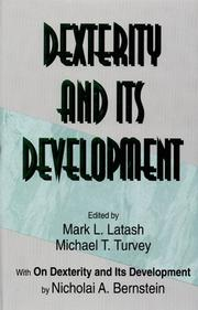 Cover of: Dexterity and its development