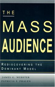 Cover of: The mass audience