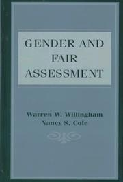 Cover of: Gender and fair assessment