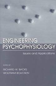 Cover of: Engineering Psychophysiology |
