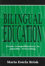 Cover of: Bilingual Education