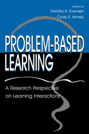 Cover of: Problem-based Learning |