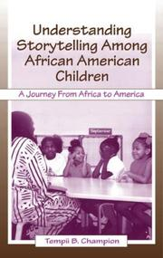 Cover of: Understanding Storytelling Among African American Children