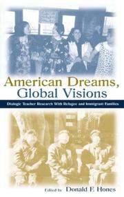 Cover of: American dreams, global visions |
