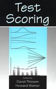 Cover of: Test Scoring |
