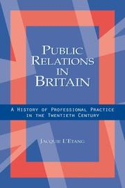 Cover of: Public Relations in Britain