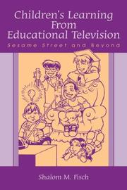 Cover of: Children's Learning From Educational Television