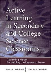 Cover of: Active learning in secondary and college science classrooms |