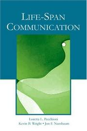 Cover of: Life-span communication |
