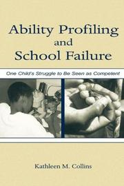 Cover of: Ability Profiling and School Failure