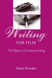 Cover of: Writing for film
