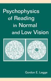 Cover of: Psychophysics of Reading in Normal and Low Vision