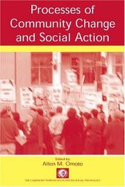 Cover of: Processes of Community Change and Social Action (Claremont Symposium on Applied Social Psychology)