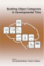 Cover of: Building object categories in developmental time |