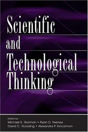 Cover of: Scientific and technological thinking |