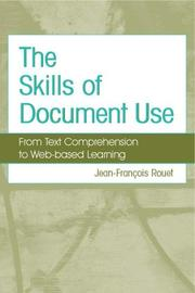 Cover of: The Skills of Document Use