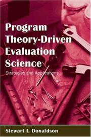 Cover of: Program Theory-Driven Evaluation Science