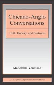 Cover of: Chicano-Anglo conversations