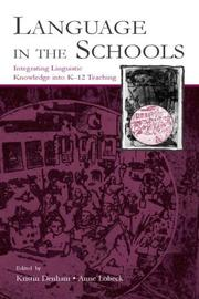 Cover of: Language In The Schools |