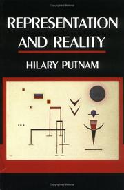 Cover of: Representation and Reality (Representation and Mind)