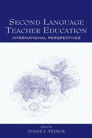 Cover of: Second Language Teacher Education