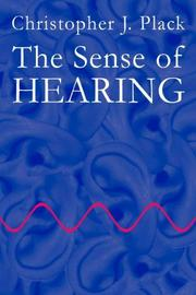 Cover of: The Sense of Hearing | Christopher J. Plack