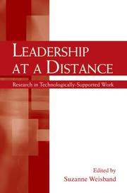 Cover of: Leadership at a Distance