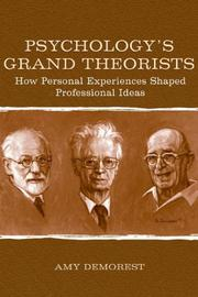 Cover of: Psychology's Grand Theorists