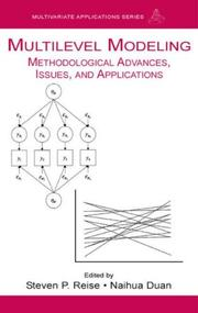 Cover of: Multilevel modeling |