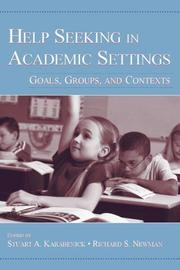 Cover of: Help Seeking in Academic Settings |