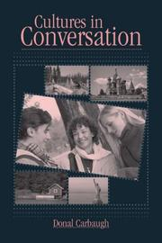 Cover of: Cultures in conversation