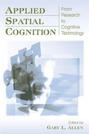 Cover of: Applied Spatial Cognition