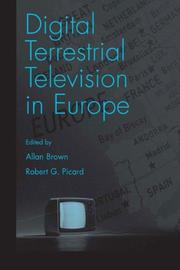 Cover of: Digital Terrestrial Television in Europe |