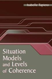 Cover of: Situation Models and Levels of Coherence