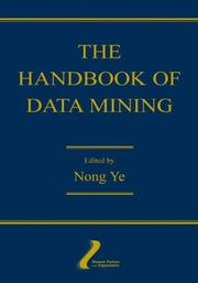 Cover of: The Handbook of Data Mining (Human Factors and Ergonomics)