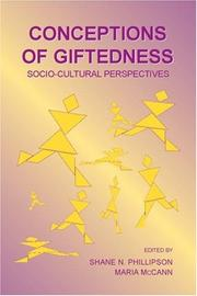 Cover of: Conceptions of giftedness