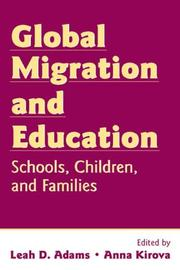 Cover of: Global Migration and Education |