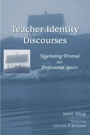 Cover of: Teacher Identity Discourses
