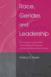 Cover of: Race, Gender, and Leadership